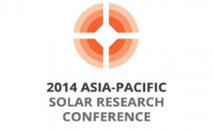 2014 Asia-Pacific Solar Research Conference