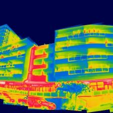 Thermal imaging of buildings