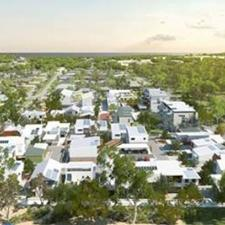 Artist's impression of White Gum Valley
